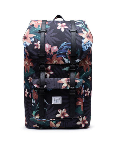 Little America Backpack Summer Floral Black