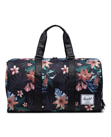 Novel Duffle Summer Floral Black