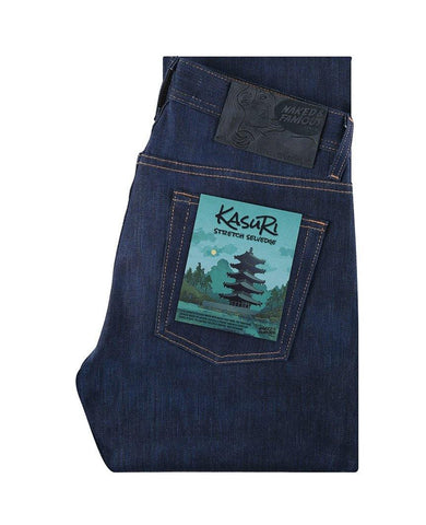 Kasuri Stretch Selvedge Weird Guy