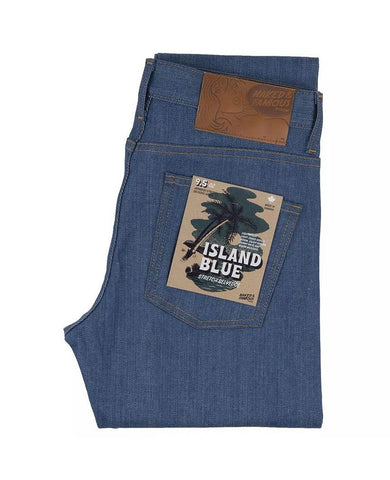 Island Blue Stretch Selvedge Easy Guy