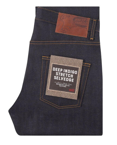 Deep Indigo Stretch Selvedge Easy Guy
