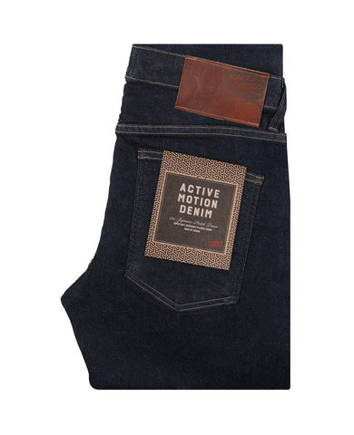 Active Motion Indigo Denim Super Skinny Guy
