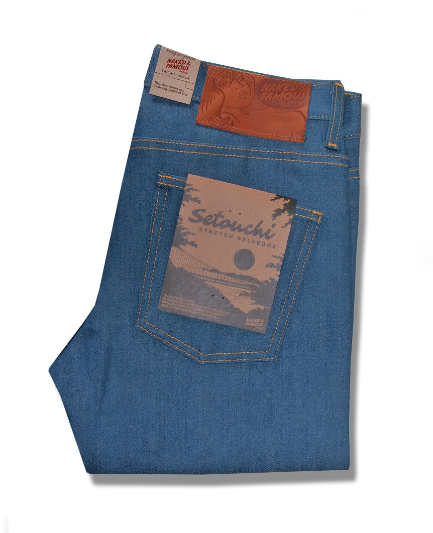 Setouchi Stretch Selvedge Weird Guy