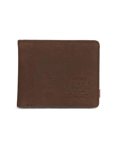Hank Wallet Nubuck Brown Leather