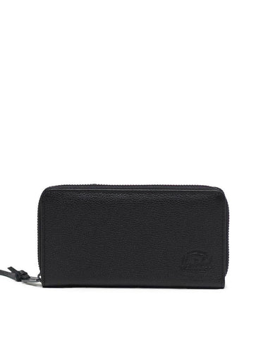 Thomas Wallet Black Pebbled Leather