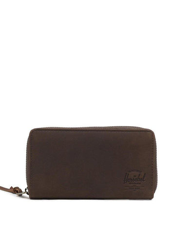 Thomas Wallet  Nubuck Brown