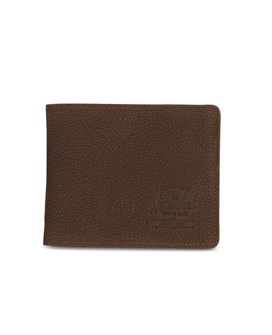Roy Wallet Tile Brown Pebbled Nubuck