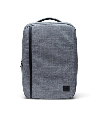 Travel Backpack Raven Crosshatch