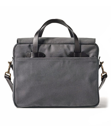 Rugged Twill Original Briefcase  Cinder