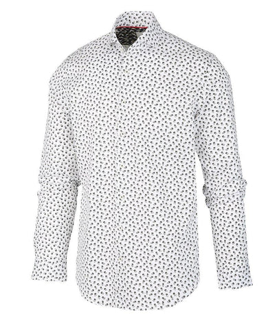 White Long Sleeve Buttondown Shirt