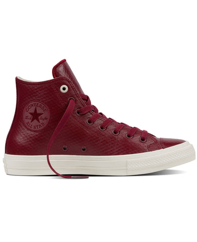 Chuck II Mesh Back Leather Red Block
