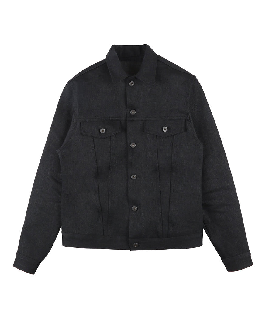 Elephant 7 El Diablo Denim Jacket Black