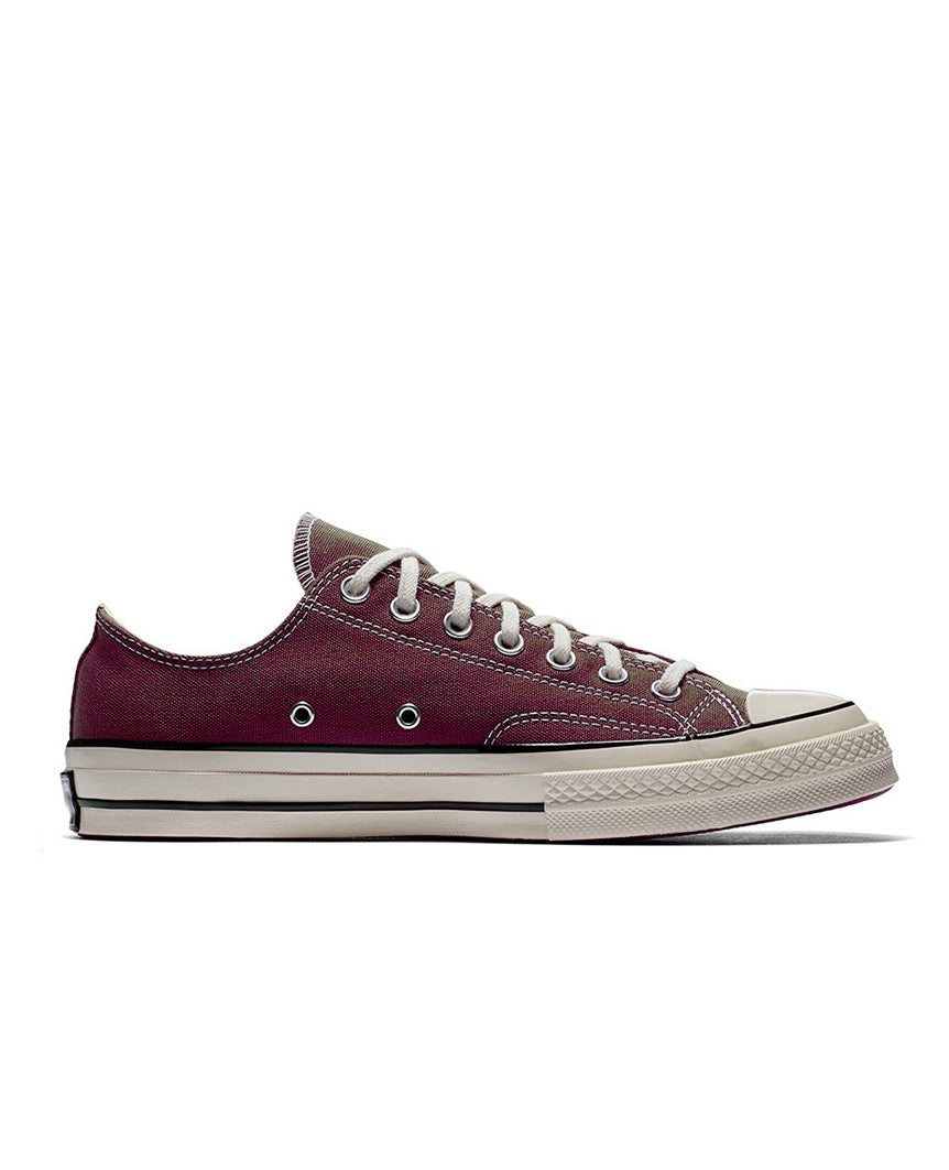 Chuck 70 Low Top  Dark Burgundy
