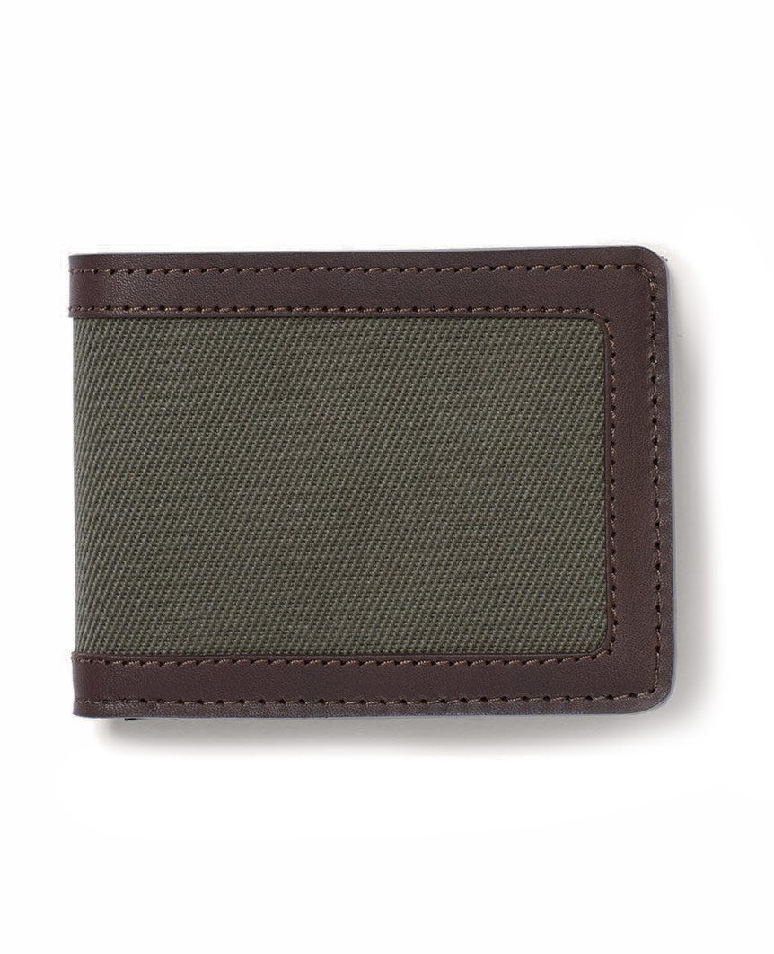 Rugged Twill Outfitter Wallet Outer Green