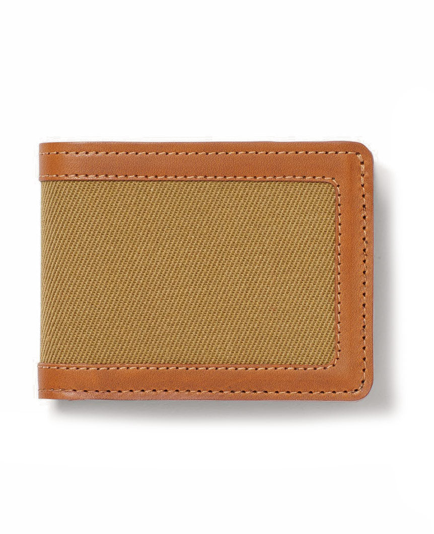 Rugged Twill Outfitter Wallet Tan