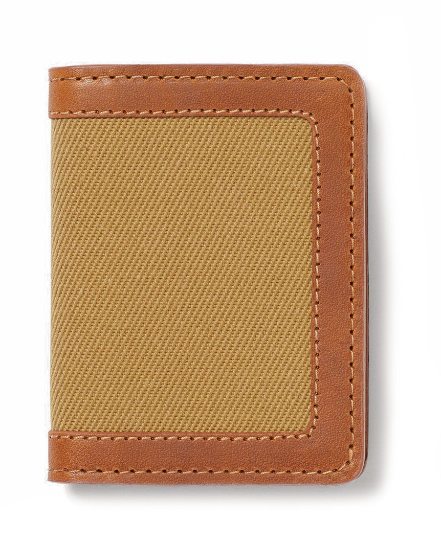 Rugged Twill Outfitter Card Wallet Tan