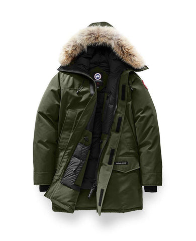 Langford Parka Military Green Mens