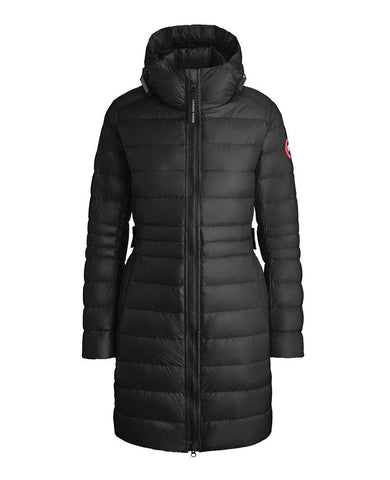 Cypress Hooded Down Jacket Black Womens