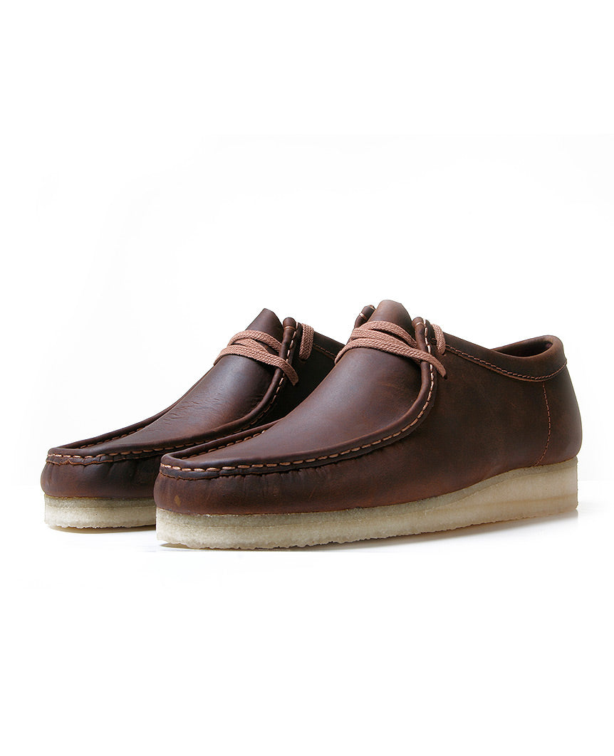 Originals Wallabee Beeswax Brown Leather