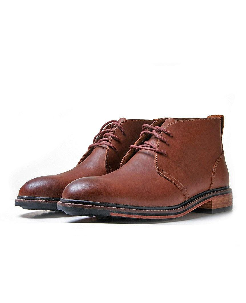 Bostonian Costigan Mid - Dark Tan Leather