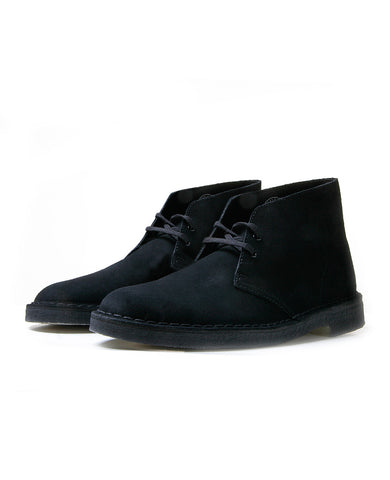 Originals Desert Boot Black Suede