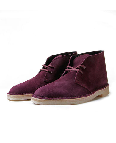 Originals Desert Boot Bordeaux Suede