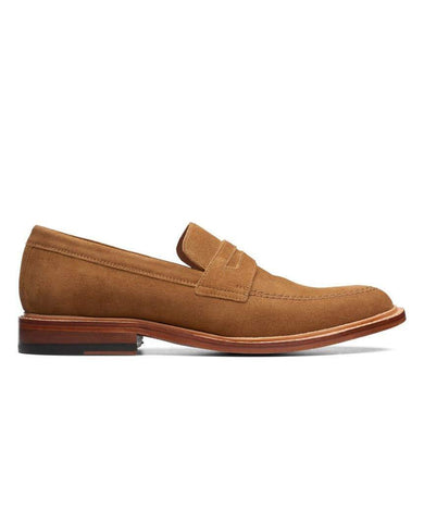 Bostonian No16 Soft Free Low Cola Suede