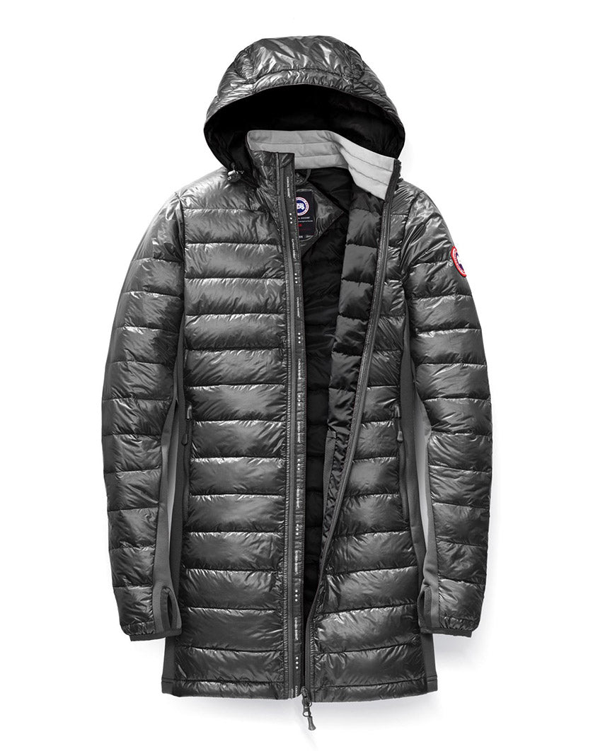 HyBridge Lite Coat Graphite Black Womens