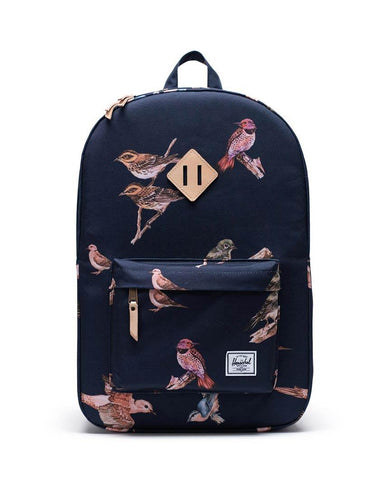 Heritage Birds Navy Backpack