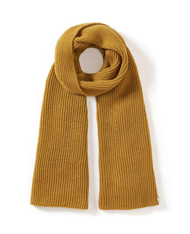 Porter Ribbed Scarf Wheat