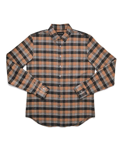 Camel Check Flannel Shirt