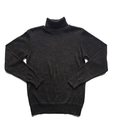 Charcoal Grey Turtleneck Shirt