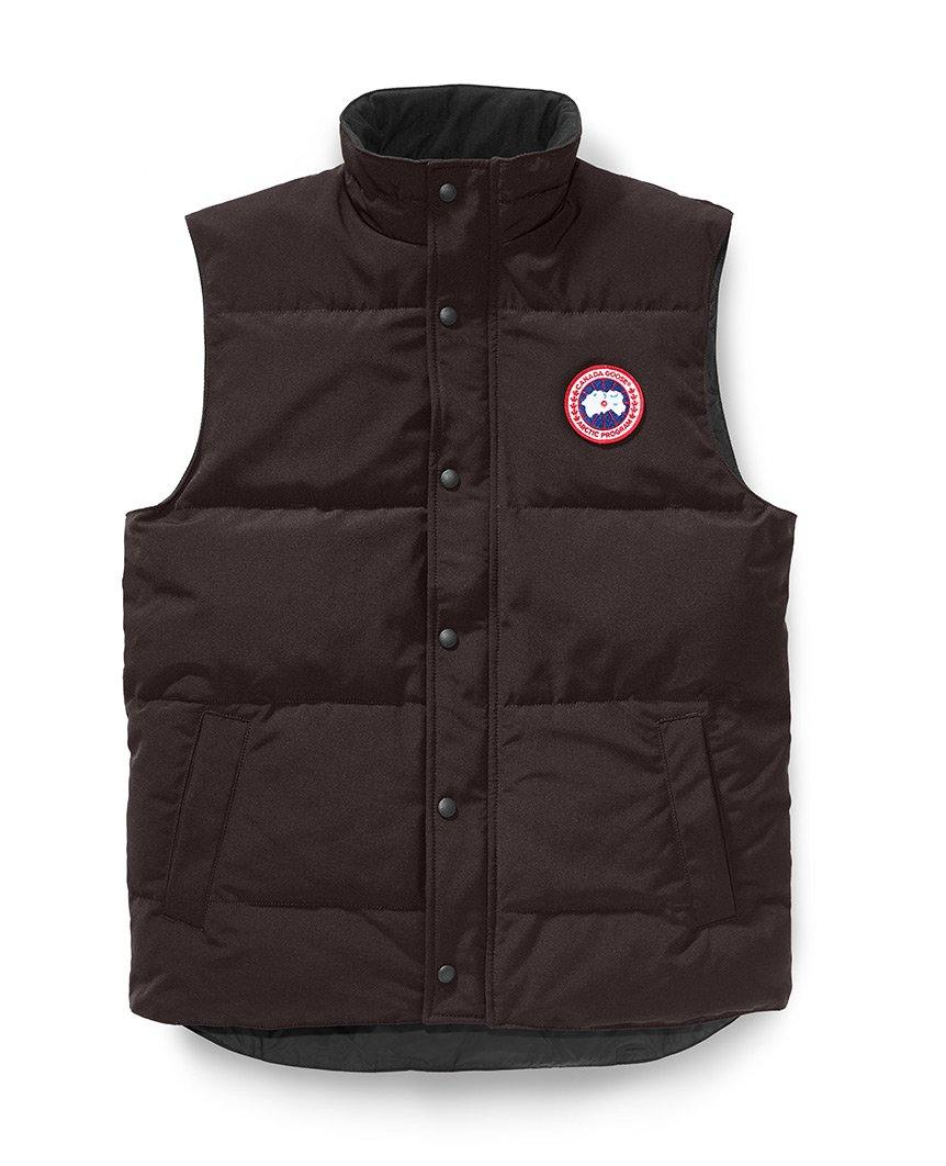 Garson Vest Charred Wood