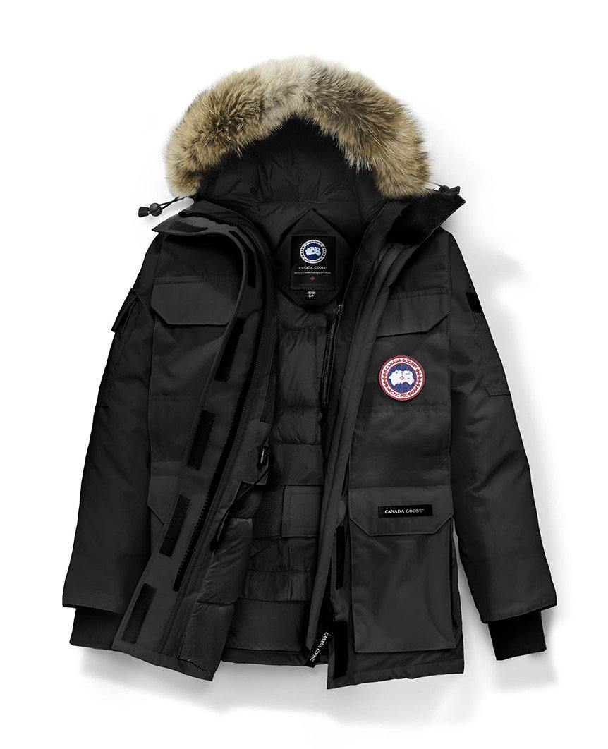Expedition Parka Fusion Fit Black Womens