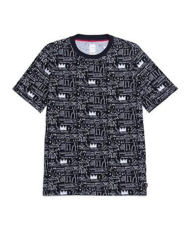 Basquiat Beat Bop Tee Mens