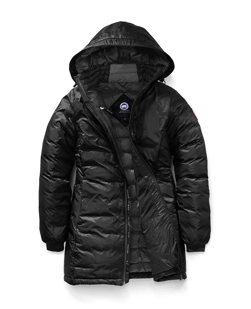 Camp Hooded Jacket Black Womens