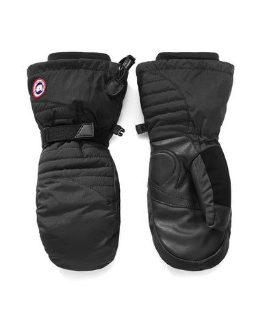 Arctic Down Mitts Womens Black