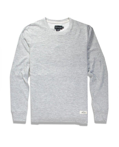 Grey Slub L/S T-Shirt