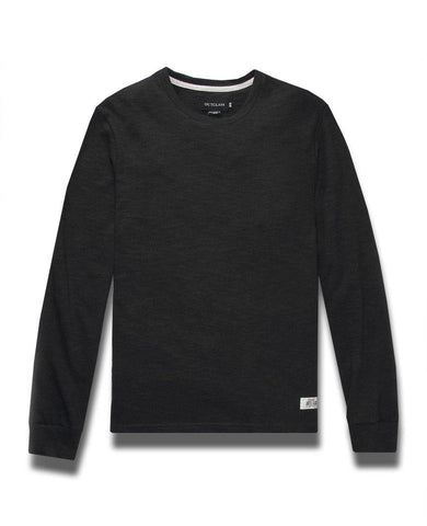 Black Slub L/S T-Shirt