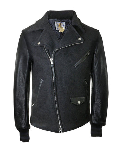 Contemporary Moto Black Jacket