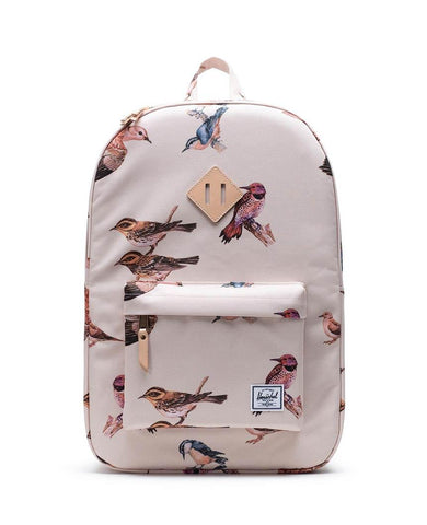Heritage Birds Backpack Natural