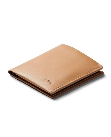 Note Sleeve Wallet RFID Tan