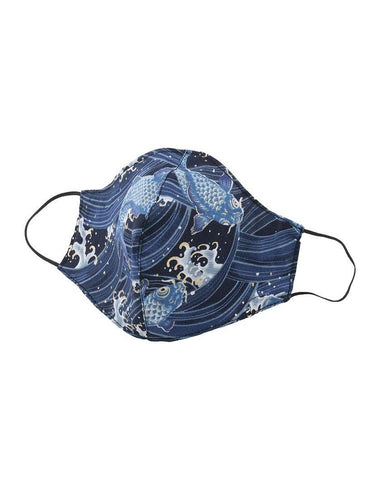 Protection Face Mask - Koi Fish Blue