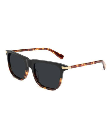 Atlas Black & Tortoise Sunglasses Pure Polarized