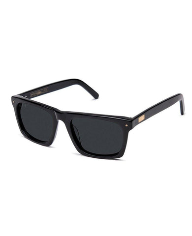 Watson Glossy Black Sunglasses Pure Polarized