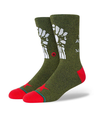 Renegades Rage Against The Machine Casual Socks Army Green