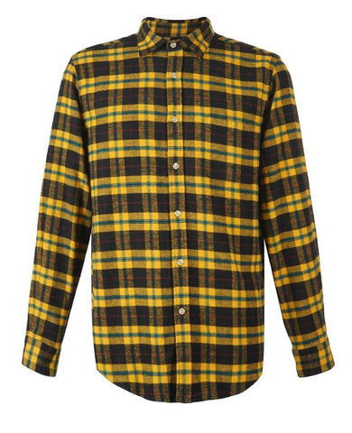 Lean Yellow Check Shirt