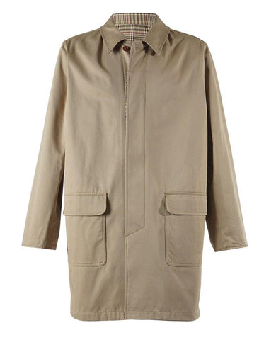 Gabardine Reversible Tan Jacket