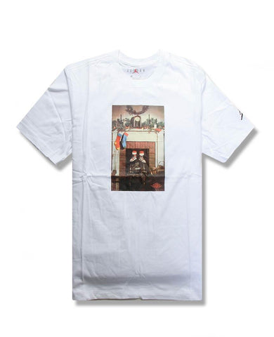Mike AIR Tee White