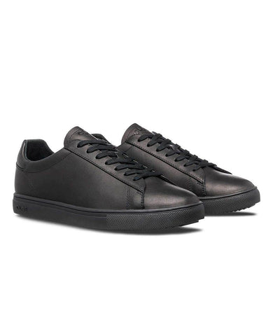 Bradley Black Water Repellent Leather